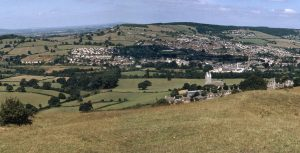 Randwick village from Selsley common